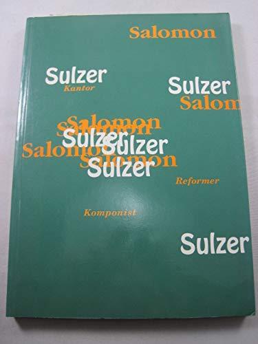 Salomon Sulzer - Kantor, Komponist, Reformer: Katalog: Purin, Bernhard