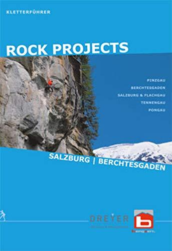 9783950199222: RockProjects - Kletterführer Salzburg Berchtesgaden: Klettern im Salzburger- und Berchtesgadener Land