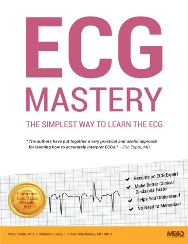 9783950394405: ECG Mastery: The Simplest Way to Learn the ECG