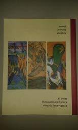 Kirchner Museum Davos : Katalog der Sammlung: Kirchner, Ernst Ludwig.