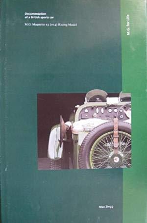 9783952083390: M.G. For Life Documentation of a British Sports Car M.G. Magnette K3 ( 014 ) Racing Model