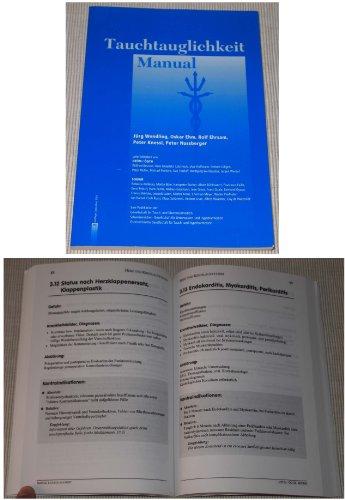 9783952228401: Tauchtauglichkeit Manual: Richtlinien für die Untersuchung von Sporttauchern der GTÜM (Deutschland), SGUHM (Schweiz) und ÖGTH (Österreich) (Livre en allemand)