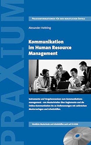 Kommunikation im Human Resource Management: Alexander Helbling