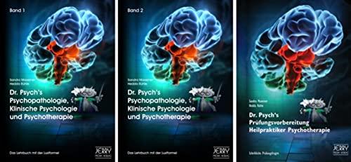 Dr. Psych's Psychopathologie, Klinische Psychologie und Psychotherapie, Bd. 1 und Bd. 2 sowie ...
