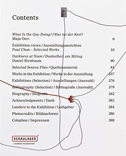 9783952397176: Paul Chan: Selected Works