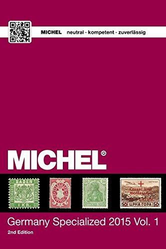 9783954021208: MICHEL Germany Specialized Catalogue 2015 Vol. 1