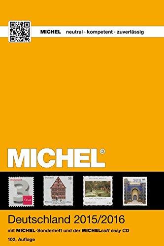 MICHEL-Katalog Deutschland 2015/2016 (mit CD): in Farbe: Schwaneberger