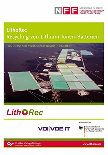 LithoRec Recycling von Lithium-Ionen-Batterien: Gunnar Bärwaldt