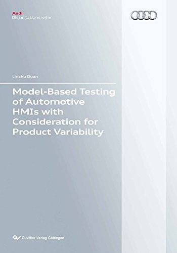 9783954041497: Model-Based Testing of Automotive HMIs with Consideration for Product Variability