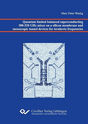 Quantum limited balanced superconducting 380-520 GHz mixer on a silicon membrane and mesoscopic ...