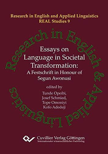 Essays on Language in Societal Transformation: Tunde Opeibi