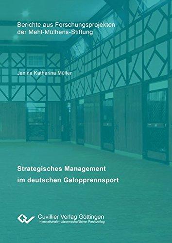 Strategisches Management im deutschen Galopprennsport: Janina Katharina Müller