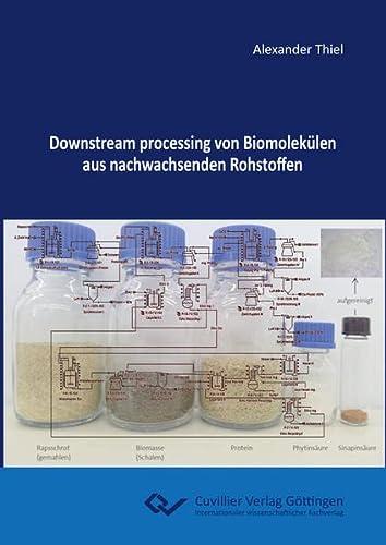 Downstream processing von Biomolekülen aus nachwachsenden Rohstoffen: Alexander Thiel