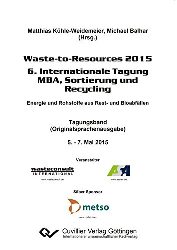 Waste-to-Resources 2015: Matthias K�hle-Weidemeier