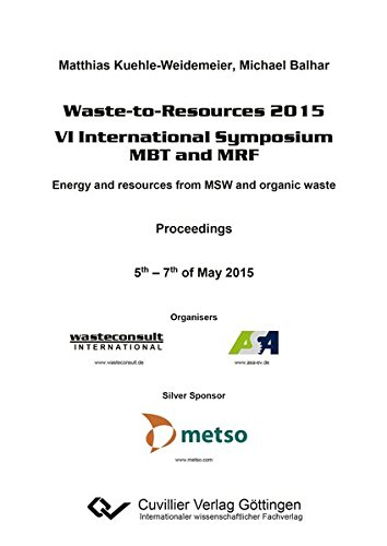 Waste-to-Resources 2015: Matthias Kuehle-Weidemeier