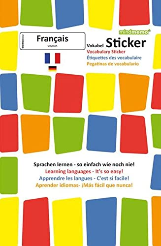 9783954130382 Mindmemo Vokabel Sticker Grundwortschatz