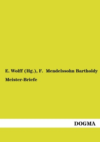 9783954543717: Meister-Briefe (German Edition)