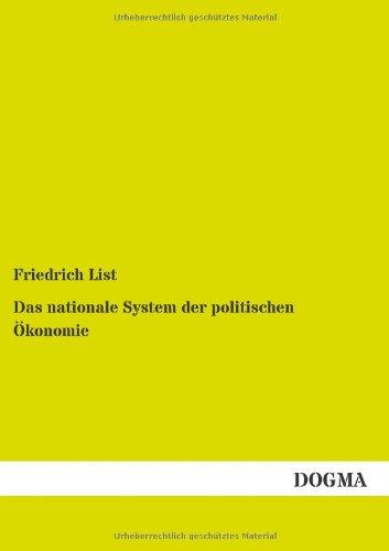 9783954546725: Das nationale System der politischen Ökonomie