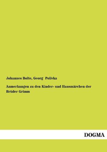 9783954548965: Anmerkungen zu den Kinder- und Hausmärchen der Brüder Grimm