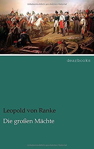 9783954555055: Die grossen Maechte (German Edition)