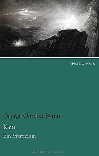 9783954555239: Kain: Ein Mysterium (German Edition)