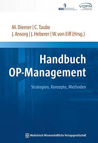 Handbuch OP-Management: Jörg Ansorg