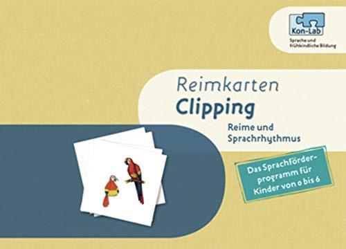 """Sprachrhythmus und Reime """"Clipping"""". Lernspiel: Bilderkarten: Penner, Zvi"""
