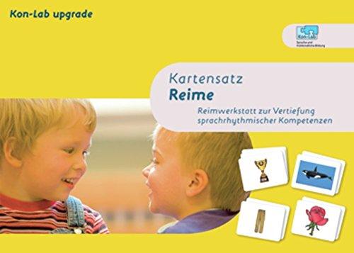 9783954690930: KonLab Rhythmus, Reime, W�rter. Kartensatz Reime: Reimwerkstatt zur Vertiefung sprachrhythmischer Kompetenzen