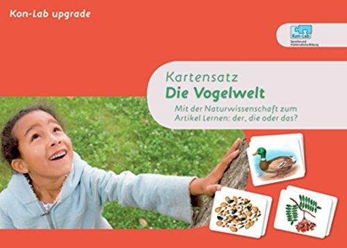 9783954690954: KonLab Kartensätze. Kartensatz Die Vogelwelt
