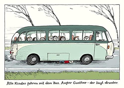 """Alle Kinder-Postkartenset Motiv """"Gunther"""": Kuhl, Anke"""