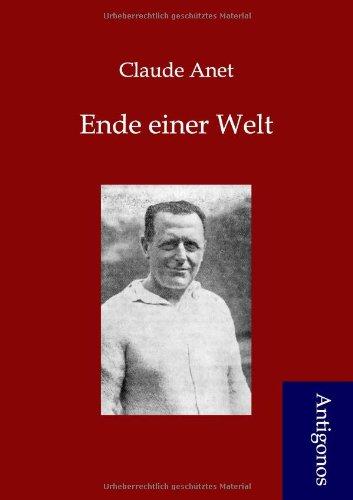9783954720231: Ende einer Welt (German Edition)
