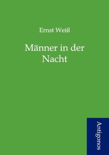 9783954721511: Männer in der Nacht (German Edition)