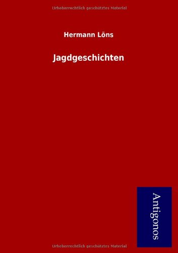 9783954723188: Jagdgeschichten