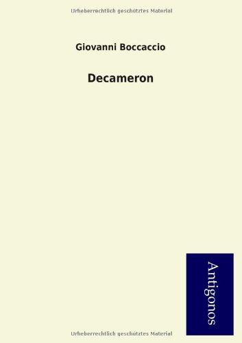 Decameron: Giovanni Boccaccio