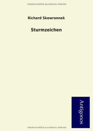9783954724550: Sturmzeichen