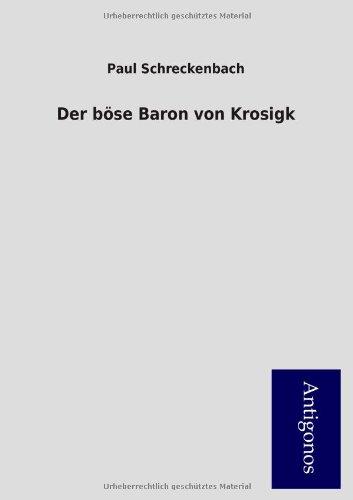 9783954724727: Der böse Baron von Krosigk
