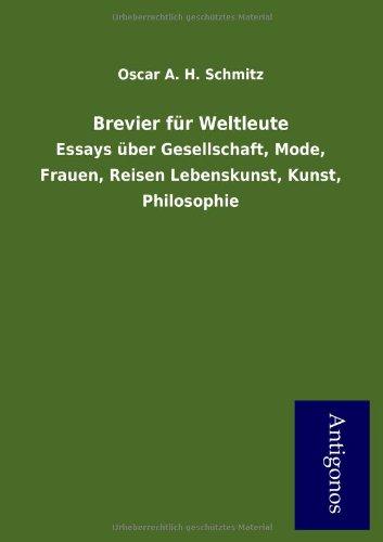 9783954725625: Brevier Fur Weltleute (German Edition)
