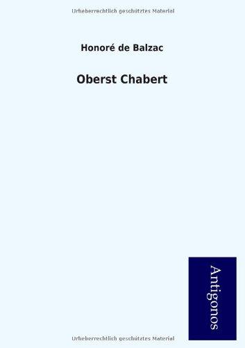 9783954726011: Oberst Chabert (German Edition)