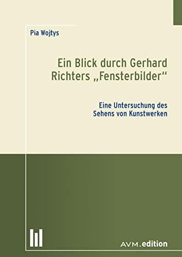 9783954770281: Ein Blick durch Gerhard Richters