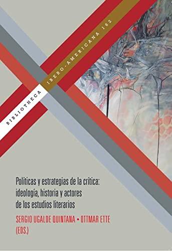 Políticas de la crítica.: Sergio Ugalde