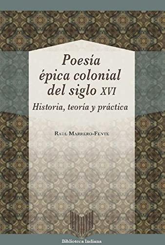 9783954875191: Poesía épica colonial