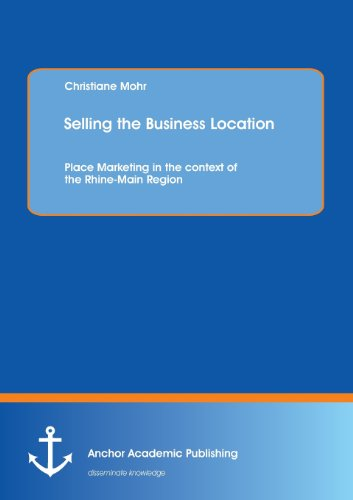 Selling the Business Location: Place Marketing in the Context of the Rhine-Main Region (Paperback):...