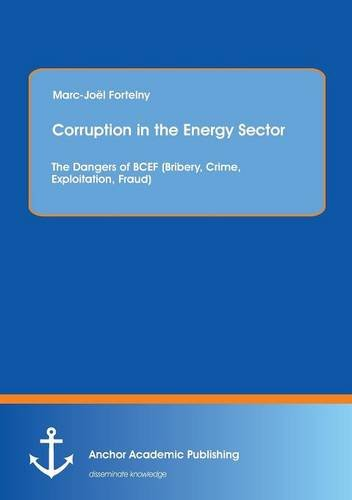 Corruption in the Energy Sector: The Dangers of BCEF (Bribery, Crime, Exploitation, Fraud): ...