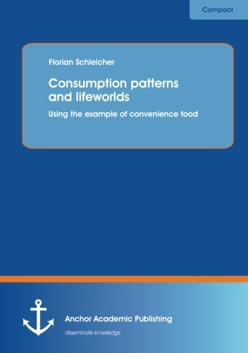 Consumption patterns and lifeworlds: using the example: Schleicher, Florian