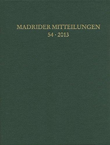 Madrider Mitteilungen (German Edition): Verlag, Ludwig Reichert