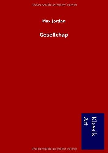 9783954911745: Gesellchap (German Edition)