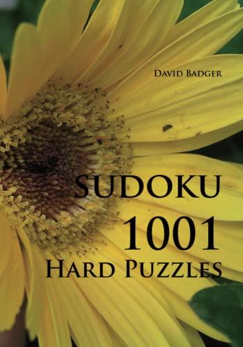9783954970032: Sudoku 1001 Hard Puzzles