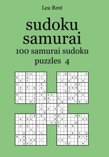 sudoku samurai 100 samurai sudoku puzzles 4: Rest, Lea