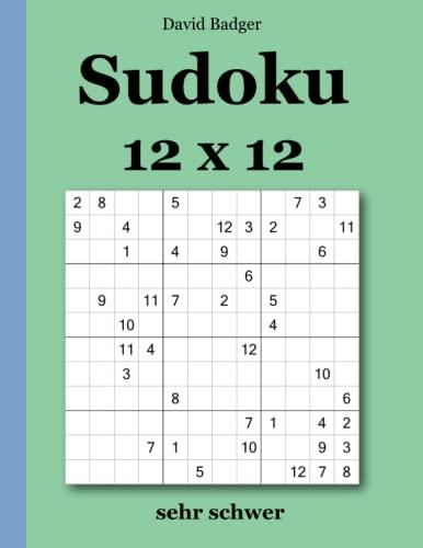 David Badger Sudoku Sehr Schwer Abebooks