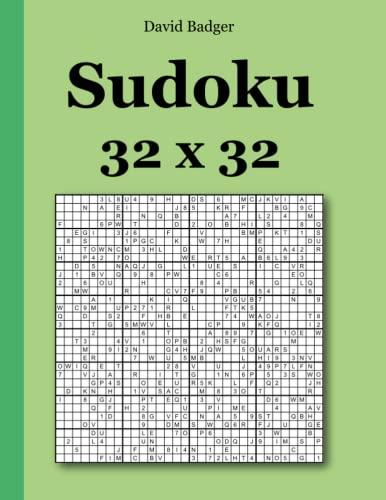 9783954973422: Sudoku 32 x 32 (German Edition)